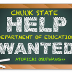 Chuuk is Hiring Teachers