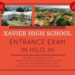Xavier Entrance Exam in Hilo, HI