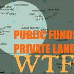 Who controls the Northwest funding for land purchase?