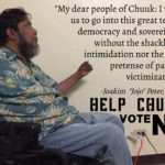 Dr. Joakim Peter Encourages Chuukese to Stay Strong Against Secession